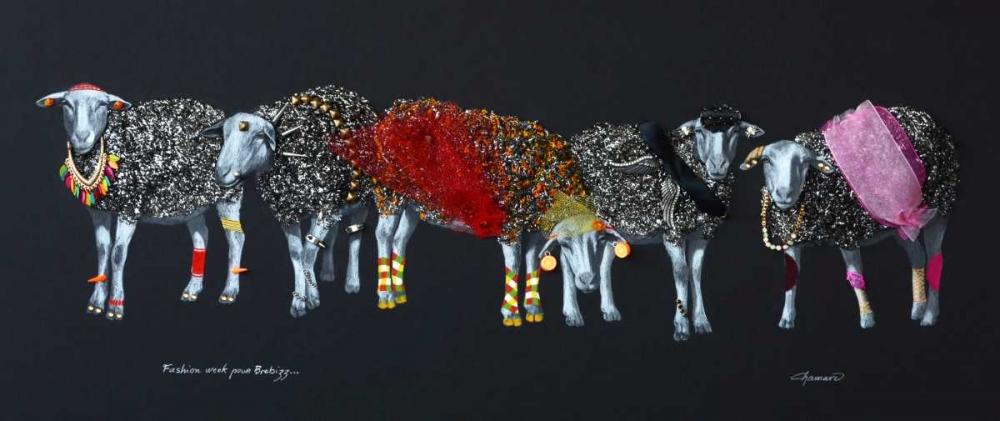 konfigurieren des Kunstdrucks in Wunschgröße Sheep 02 von Chamard, Jean-Marc