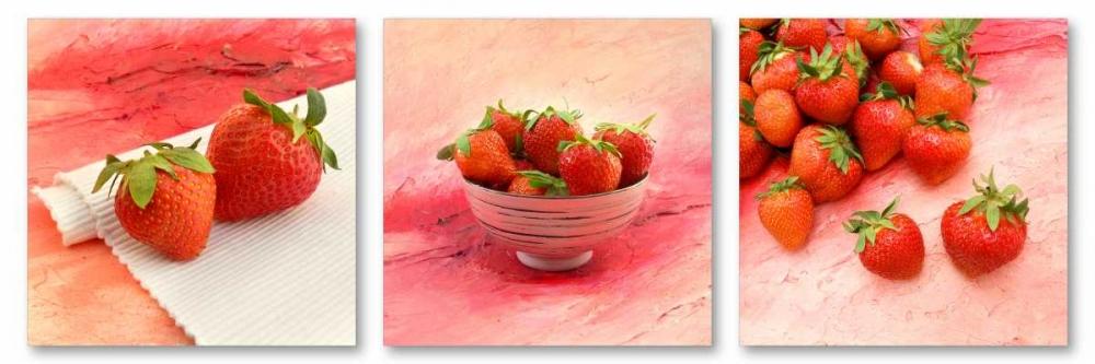 konfigurieren des Kunstdrucks in Wunschgröße Strawberries von Tarin, Michael
