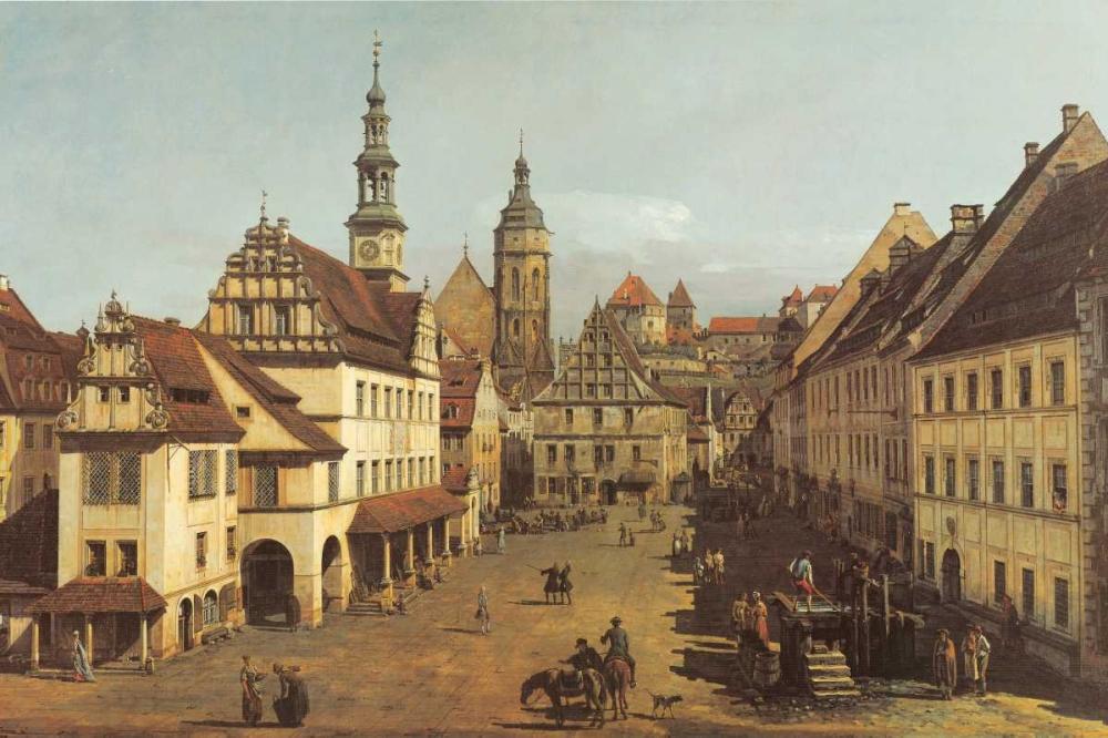 konfigurieren des Kunstdrucks in Wunschgröße Marketplace In Pirna von Canaletto