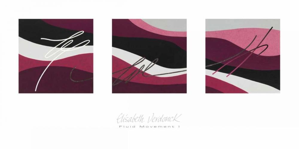 konfigurieren des Kunstdrucks in Wunschgröße Fluid Movement I von Verdonck, Elisabeth