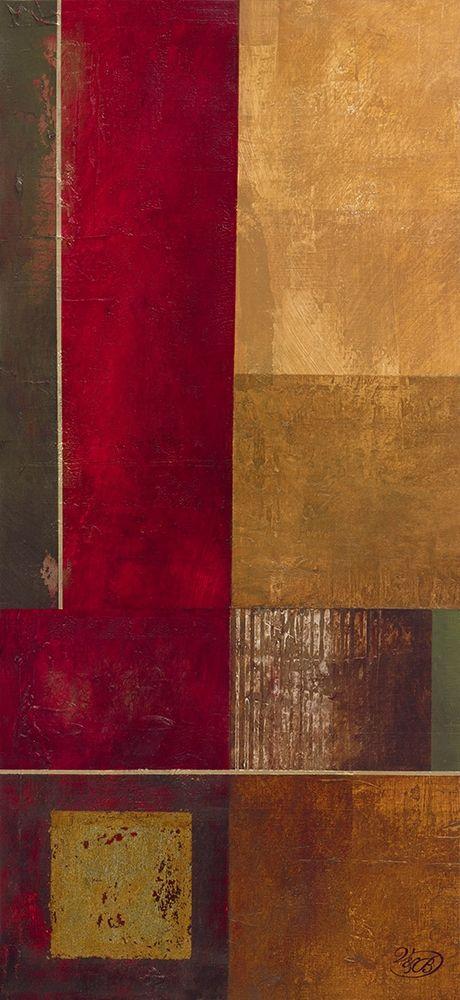 konfigurieren des Kunstdrucks in Wunschgröße Squares II von Verbeek-Van Den Broek