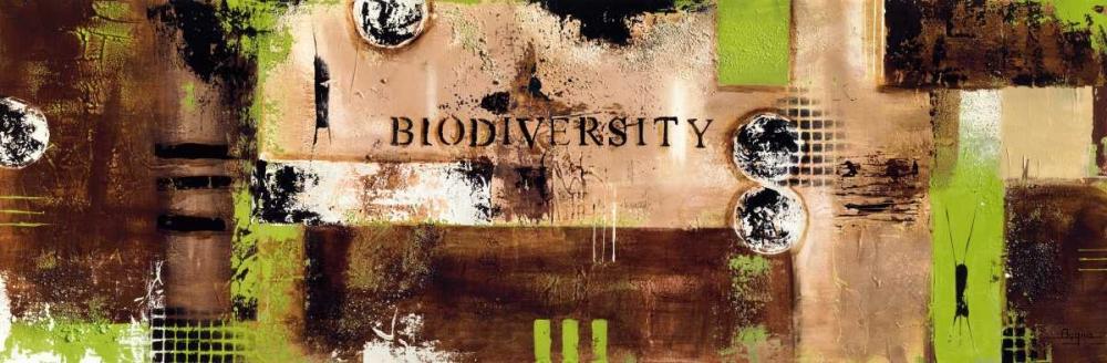 konfigurieren des Kunstdrucks in Wunschgröße Biodiversity von Bugna, Severine
