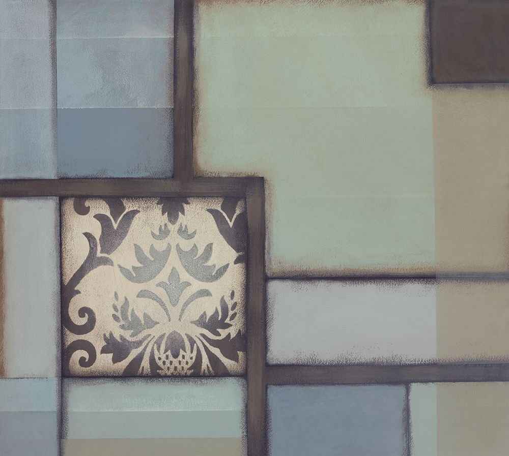 konfigurieren des Kunstdrucks in Wunschgröße Patchwork Patterns I von Verbeek-Van Den Broek