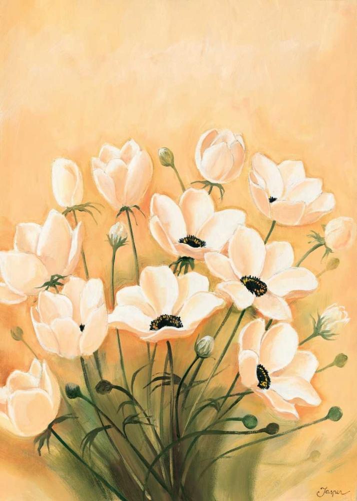 konfigurieren des Kunstdrucks in Wunschgröße White poppies 2-3 von Jasper