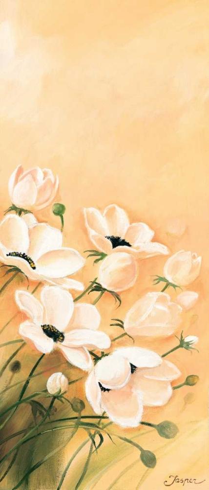konfigurieren des Kunstdrucks in Wunschgröße White poppies 3-3 von Jasper