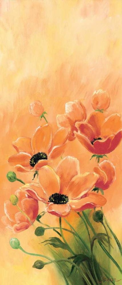 konfigurieren des Kunstdrucks in Wunschgröße Red poppies 3-3 von Jasper
