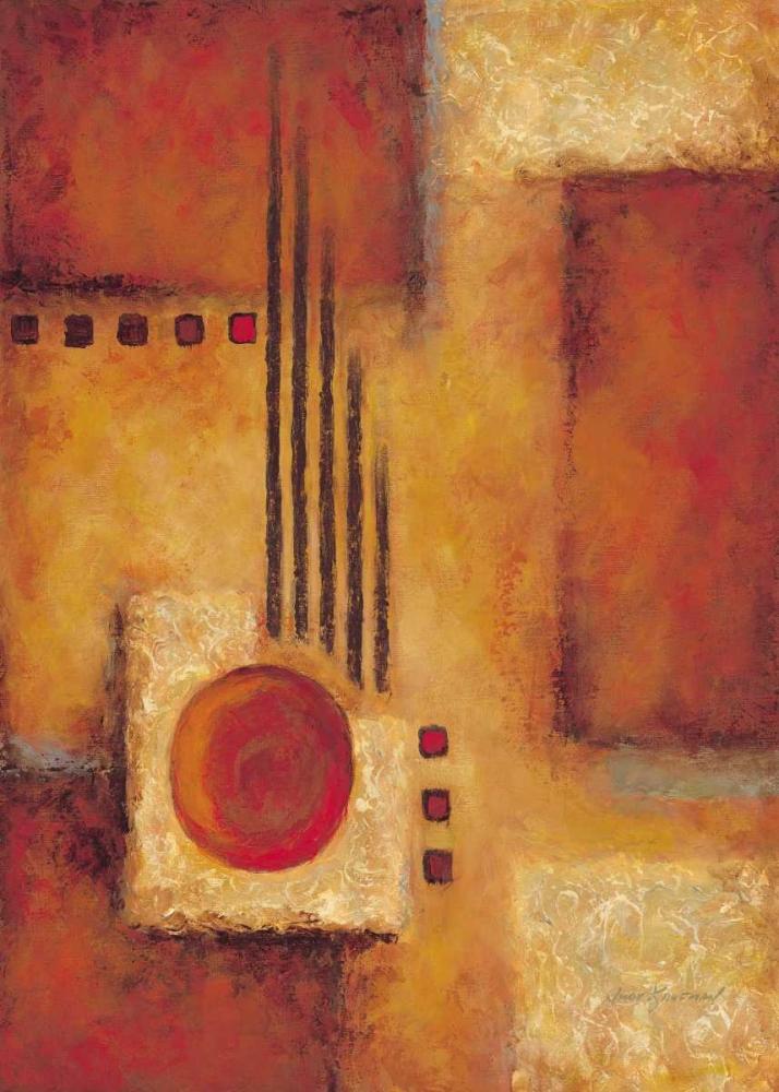 konfigurieren des Kunstdrucks in Wunschgröße Orange I von Kaufman, Judy