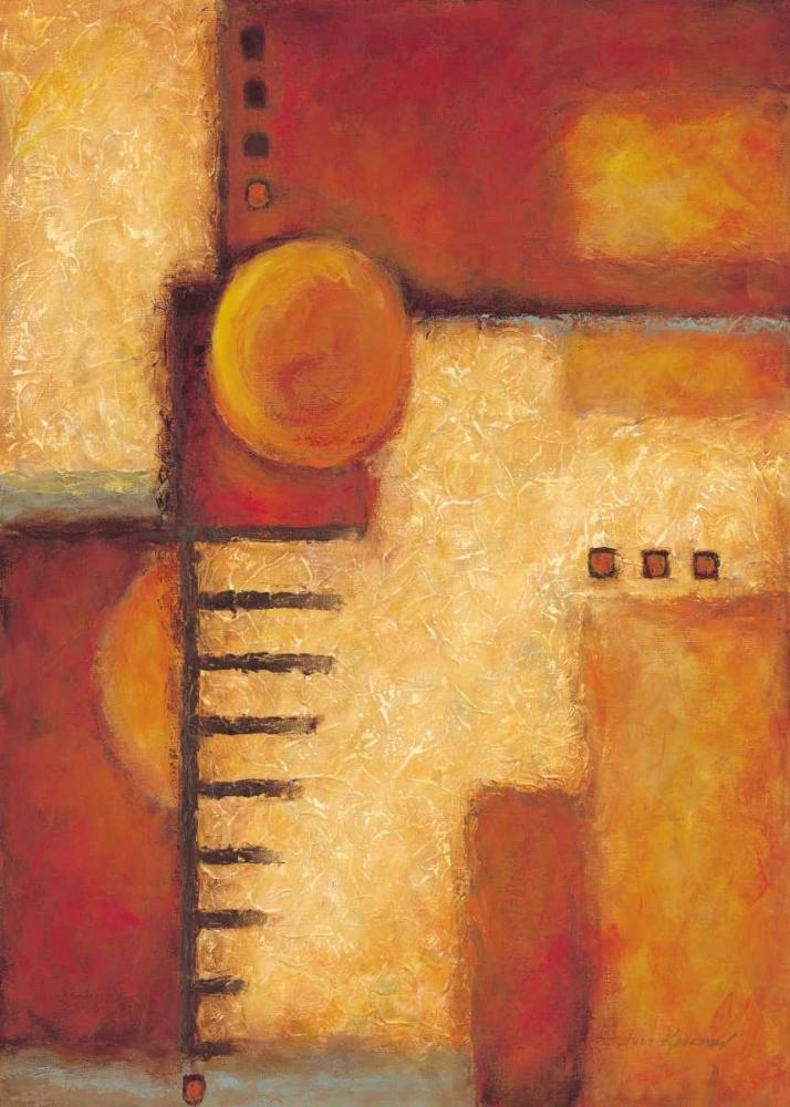 konfigurieren des Kunstdrucks in Wunschgröße Orange IV von Kaufman, Judy