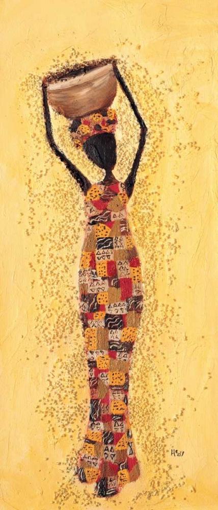 konfigurieren des Kunstdrucks in Wunschgröße African ladies 3-3 von Hedy