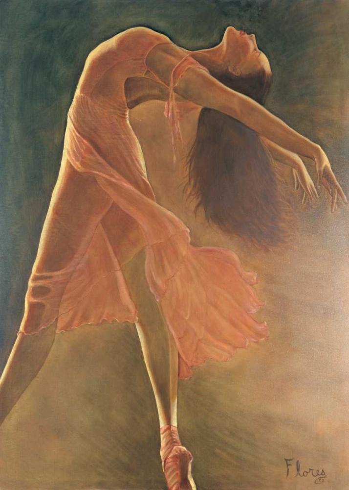 konfigurieren des Kunstdrucks in Wunschgröße Ballerina von Flores, Nancy