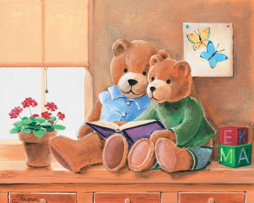 konfigurieren des Kunstdrucks in Wunschgröße Mrs. And Mr. Bear II von Jasper