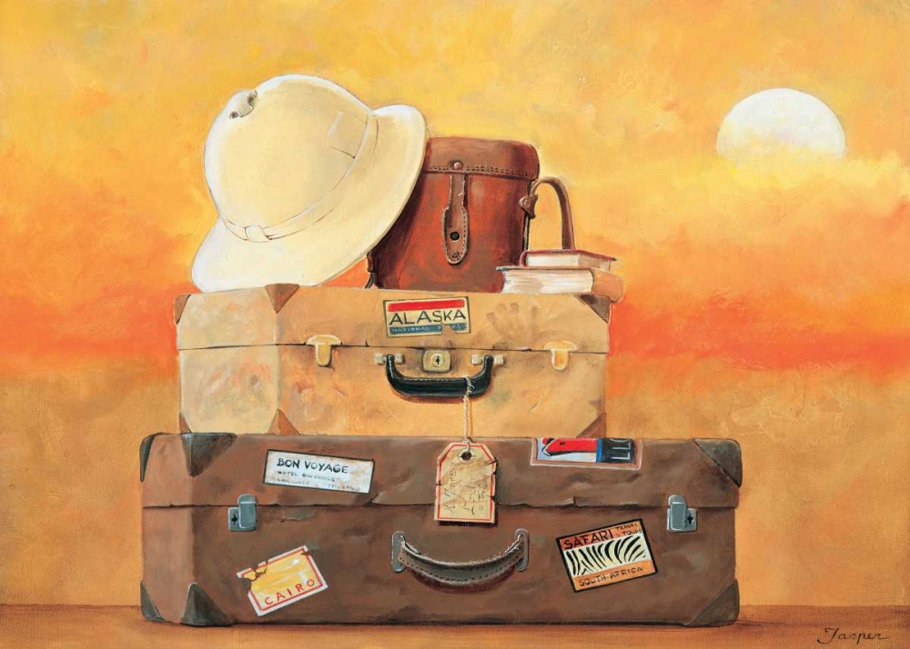 konfigurieren des Kunstdrucks in Wunschgröße Travel II von Jasper