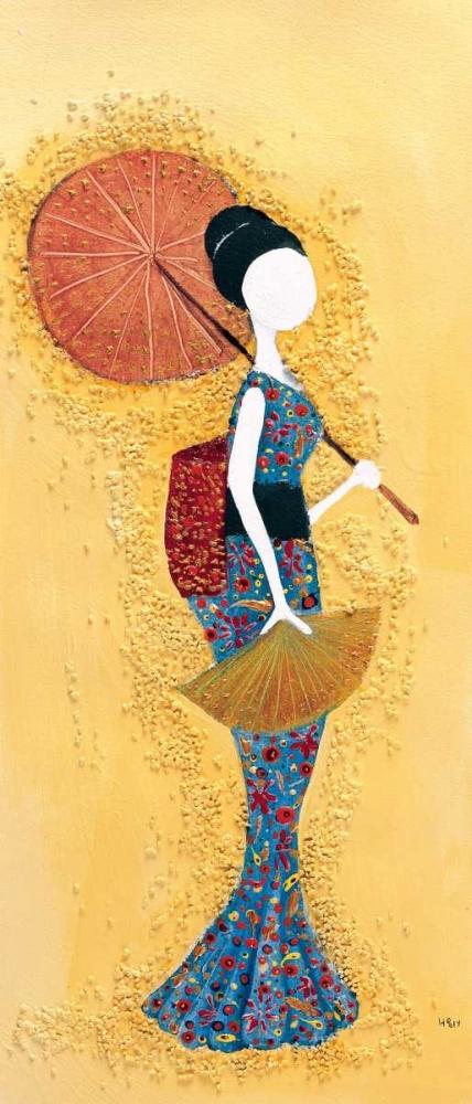 konfigurieren des Kunstdrucks in Wunschgröße Japanese lady I von Hedy