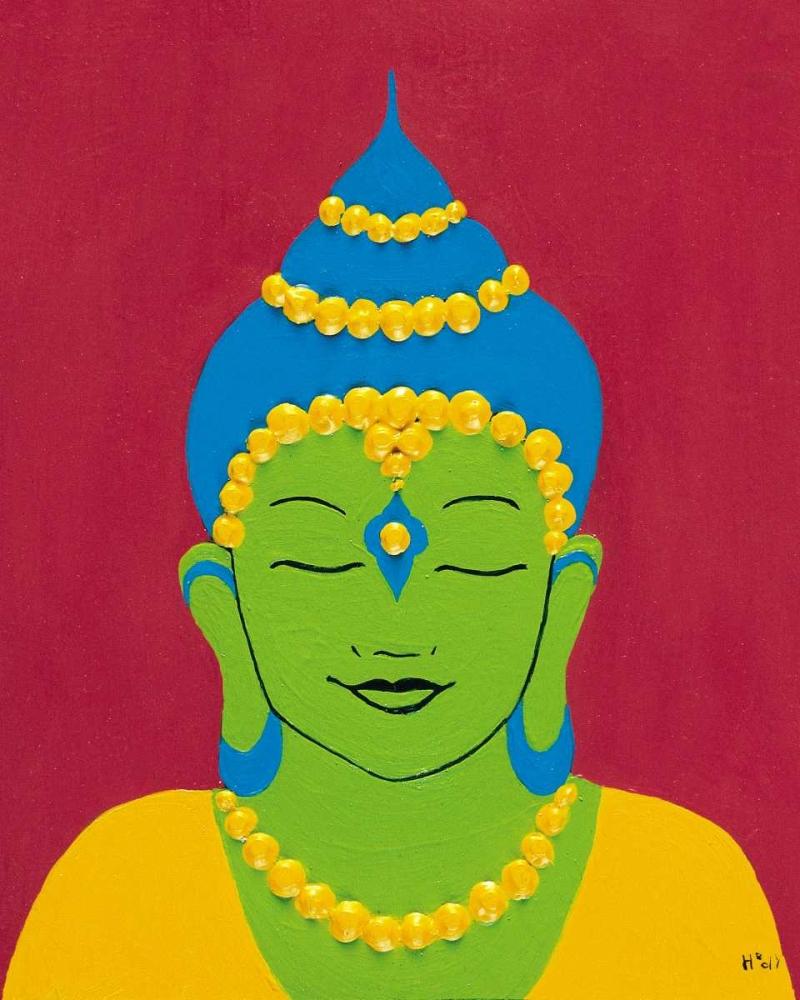 konfigurieren des Kunstdrucks in Wunschgröße Buddha I von Hedy