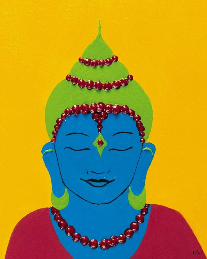 konfigurieren des Kunstdrucks in Wunschgröße Buddha III von Hedy
