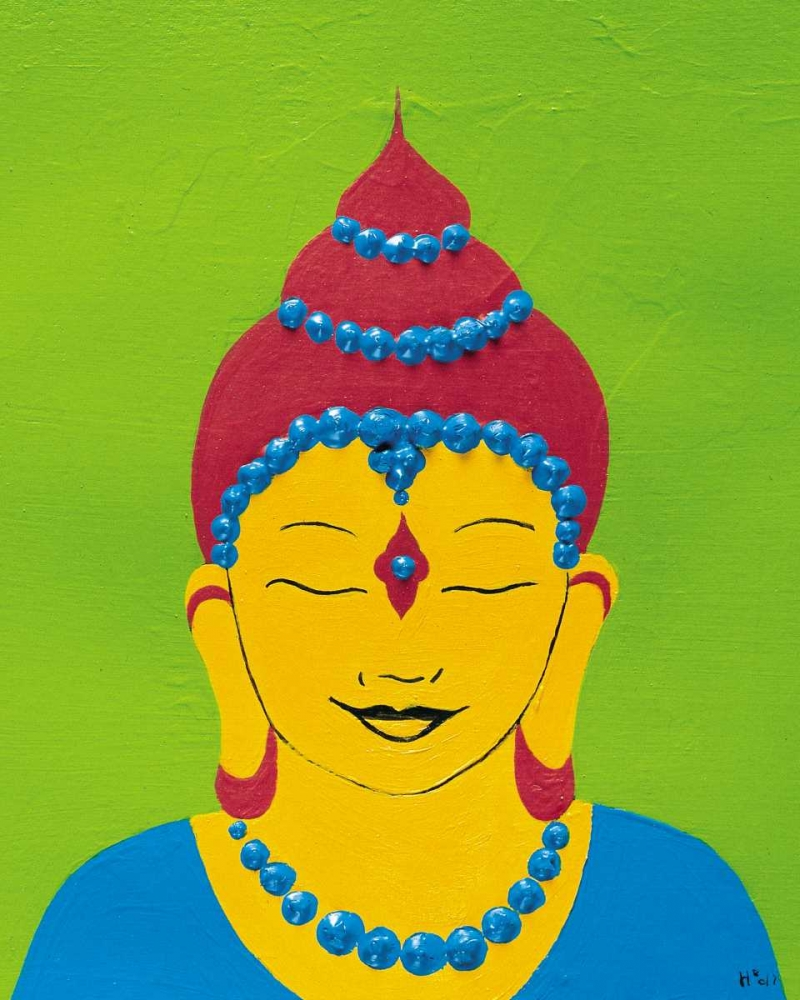 konfigurieren des Kunstdrucks in Wunschgröße Buddha IV von Hedy