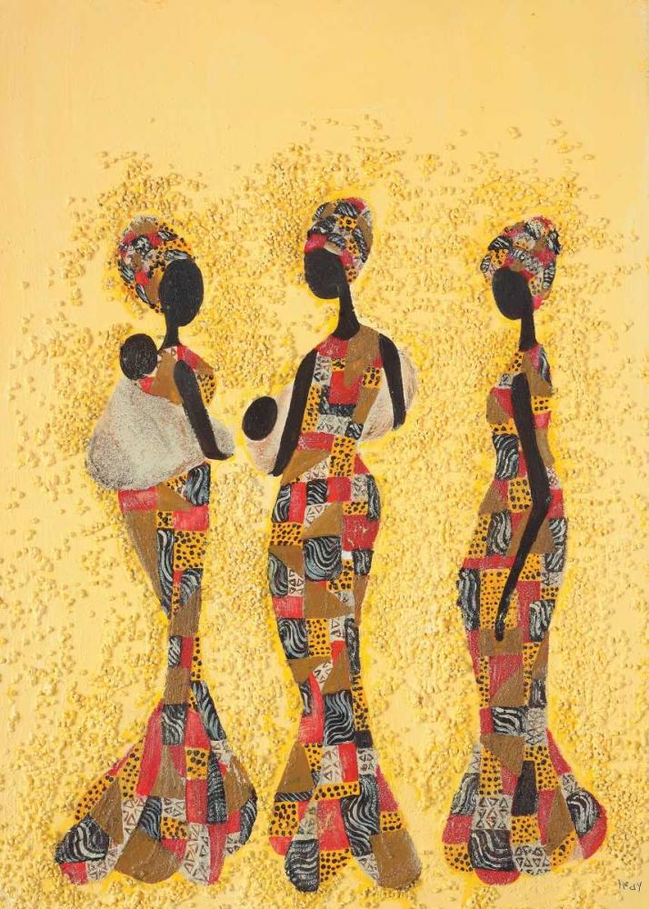 konfigurieren des Kunstdrucks in Wunschgröße African beauties von Hedy