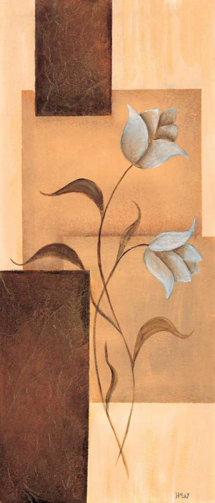 konfigurieren des Kunstdrucks in Wunschgröße Tulips on blocks I von Hedy