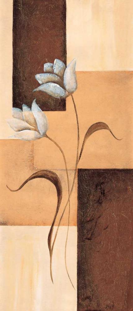 konfigurieren des Kunstdrucks in Wunschgröße Tulips on blocks III von Hedy