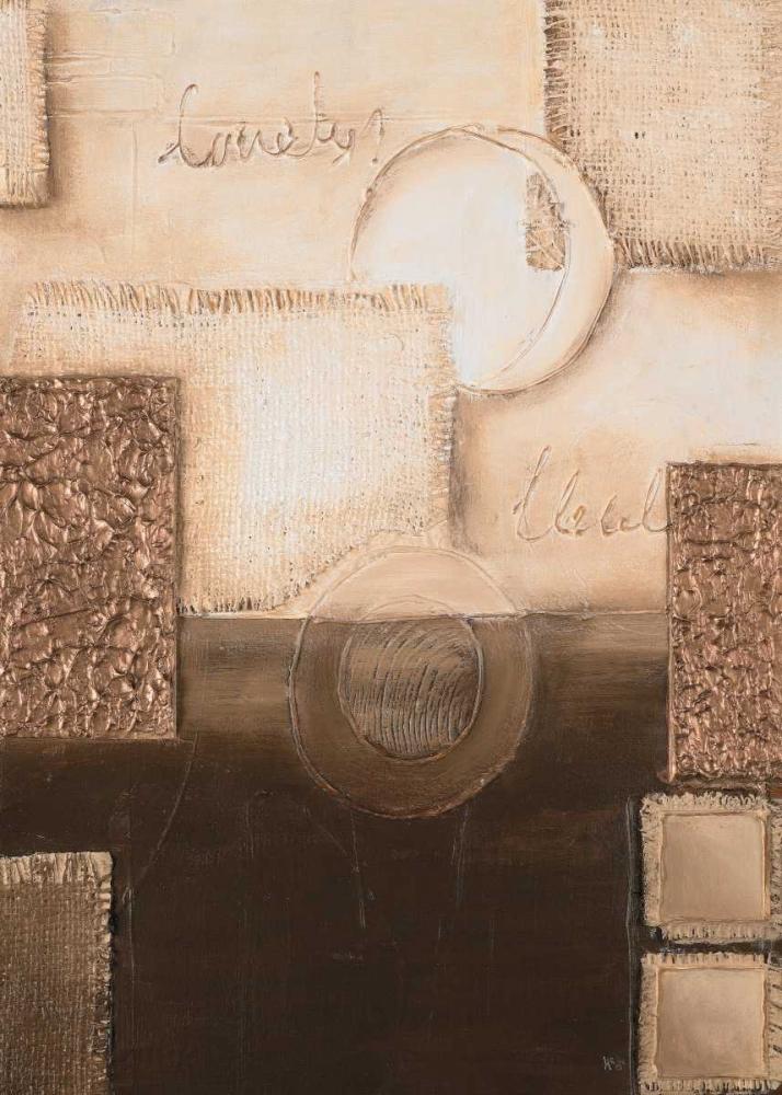konfigurieren des Kunstdrucks in Wunschgröße Circles II von Hedy