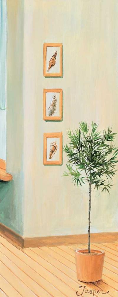 konfigurieren des Kunstdrucks in Wunschgröße Bathroom in green III von Jasper