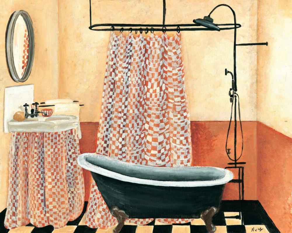 konfigurieren des Kunstdrucks in Wunschgröße Bath time I von Hedy