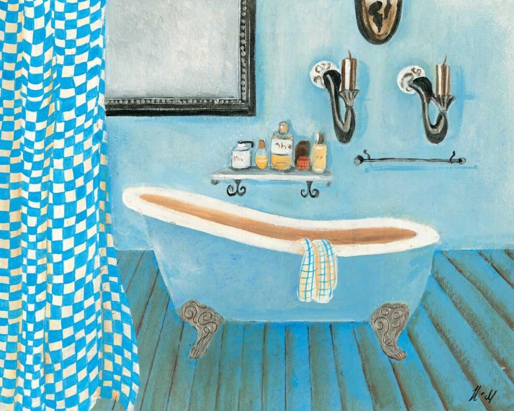 konfigurieren des Kunstdrucks in Wunschgröße Bath time IV von Hedy