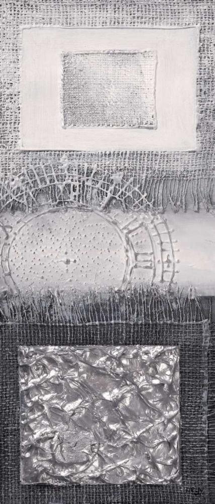 konfigurieren des Kunstdrucks in Wunschgröße Silver blocks I von Hedy