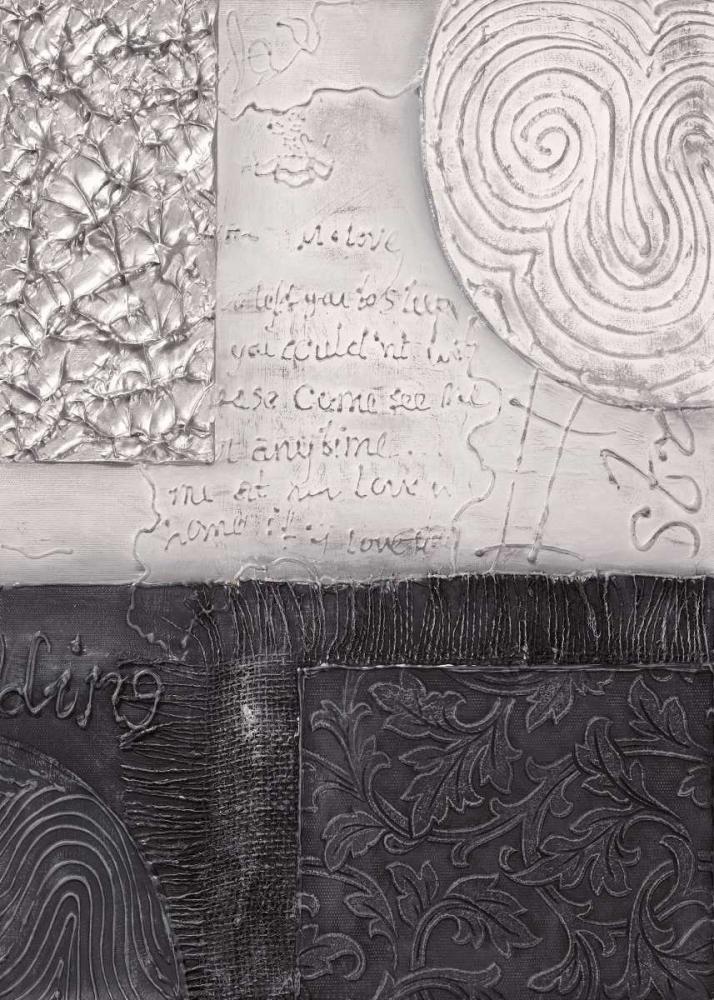 konfigurieren des Kunstdrucks in Wunschgröße Silver blocks II von Hedy