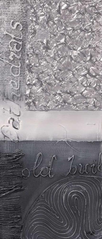 konfigurieren des Kunstdrucks in Wunschgröße Silver blocks III von Hedy