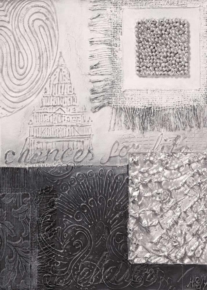 konfigurieren des Kunstdrucks in Wunschgröße Silver blocks IV von Hedy