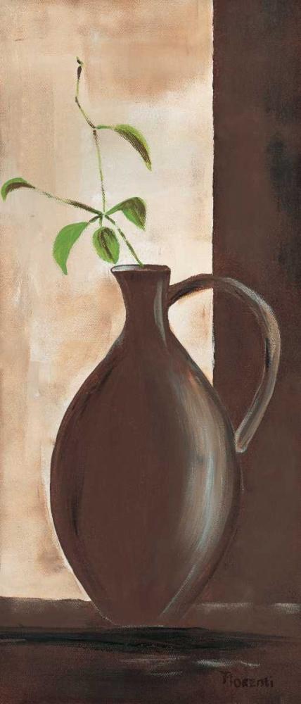 konfigurieren des Kunstdrucks in Wunschgröße Brown vase III von Florenti