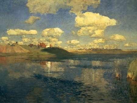 konfigurieren des Kunstdrucks in Wunschgröße Lake Russia, 1900 von Levitan, Isaac