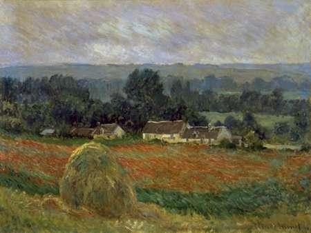 konfigurieren des Kunstdrucks in Wunschgröße Haystack at Giverny von Monet, Claude