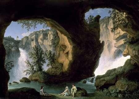 konfigurieren des Kunstdrucks in Wunschgröße Italian Landscape with Bathers von Einzelbilder
