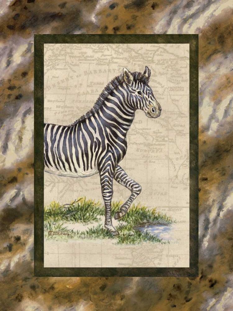 Zebra von Kruskamp, Janet <br> max. 61 x 81cm <br> Preis: ab 10€