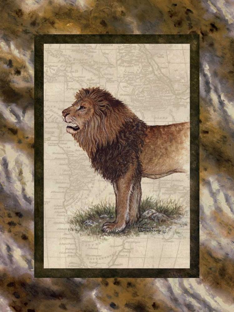 Lion von Kruskamp, Janet <br> max. 61 x 81cm <br> Preis: ab 10€