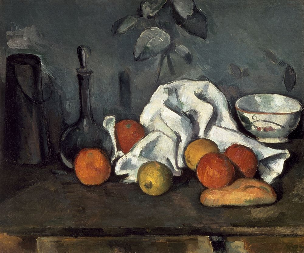 konfigurieren des Kunstdrucks in Wunschgröße Fruits von Cezanne, Paul
