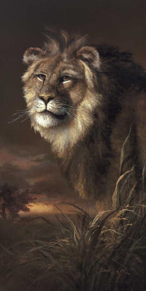 The Pride Of Africa von Lee, James <br> max. 61 x 122cm <br> Preis: ab 10€