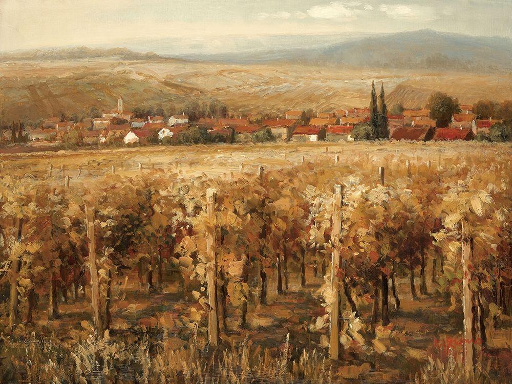 konfigurieren des Kunstdrucks in Wunschgröße Italian Golden Vineyard von Adams, K
