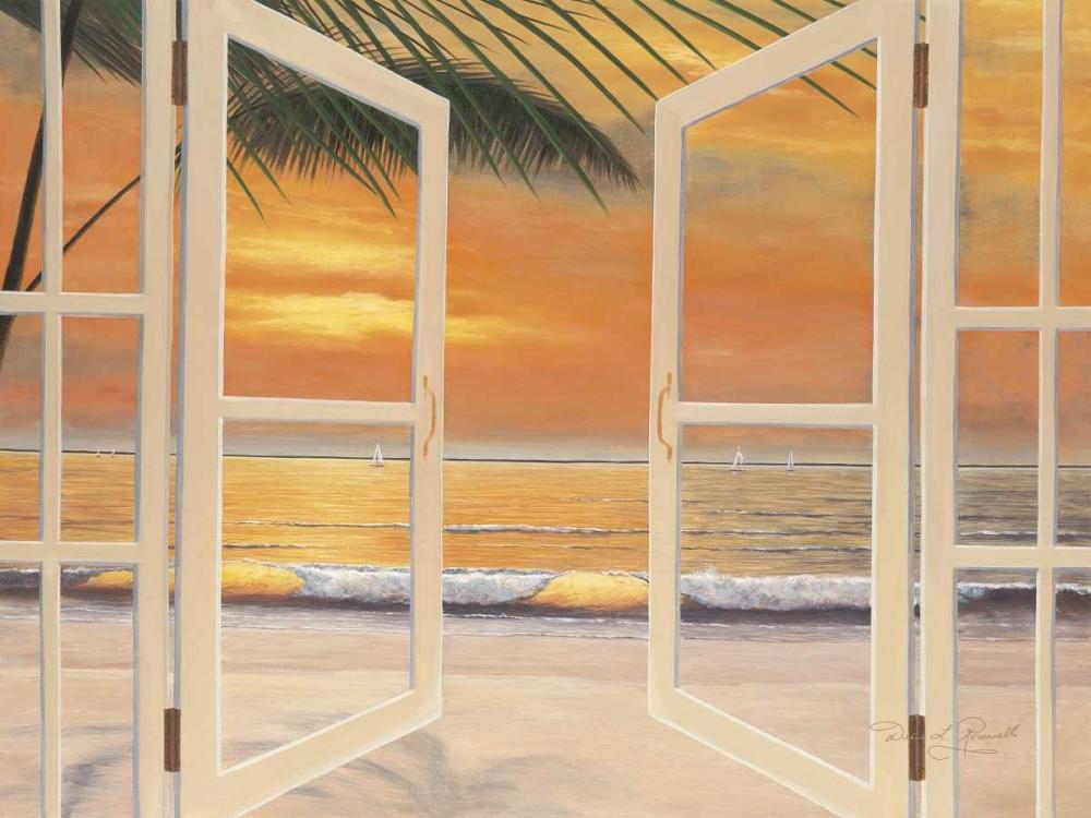 konfigurieren des Kunstdrucks in Wunschgröße Doorway To Paradise von Romanello, Diane