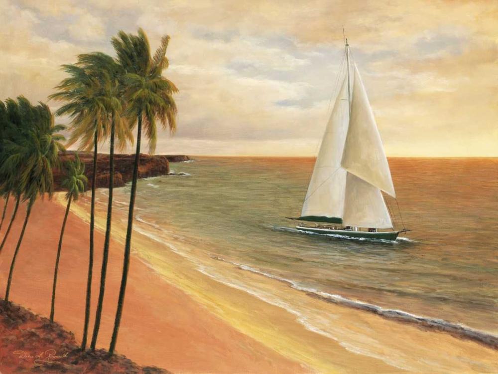 konfigurieren des Kunstdrucks in Wunschgröße Tropical Holiday von Romanello, Diane