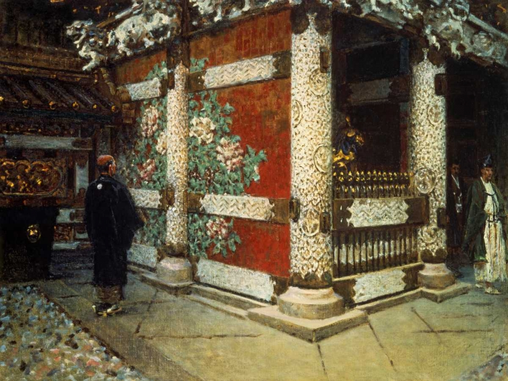 Shinto Temple in Nikko von Vereshchagin, Vasily <br> max. 122 x 91cm <br> Preis: ab 10€
