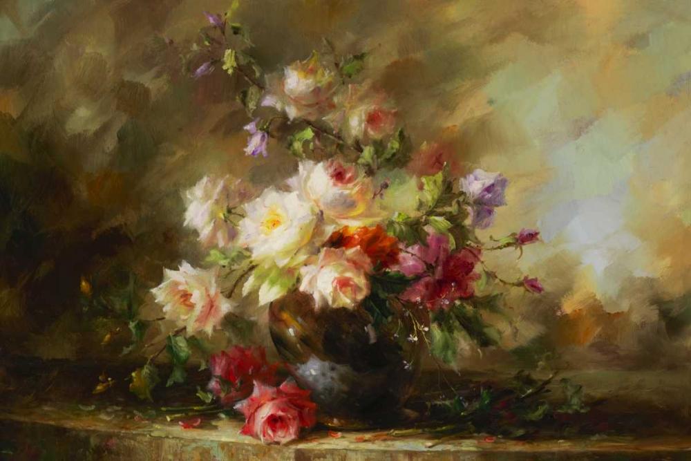 konfigurieren des Kunstdrucks in Wunschgröße Beautiful Bouquet von Foxwell