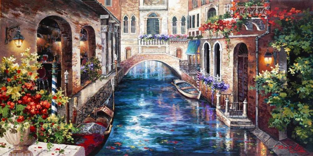 Venice Bridge von Lee, James <br> max. 191 x 94cm <br> Preis: ab 10€