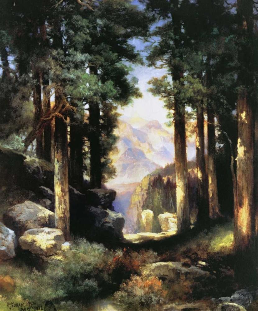 konfigurieren des Kunstdrucks in Wunschgröße Grand Canyon of the Colorado von Moran, Thomas