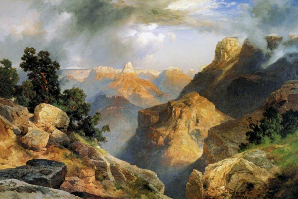 konfigurieren des Kunstdrucks in Wunschgröße Grand Canyon von Moran, Thomas