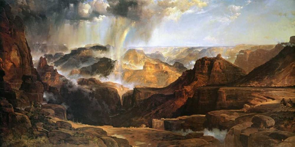 konfigurieren des Kunstdrucks in Wunschgröße The Chasm of the Colorado von Moran, Thomas