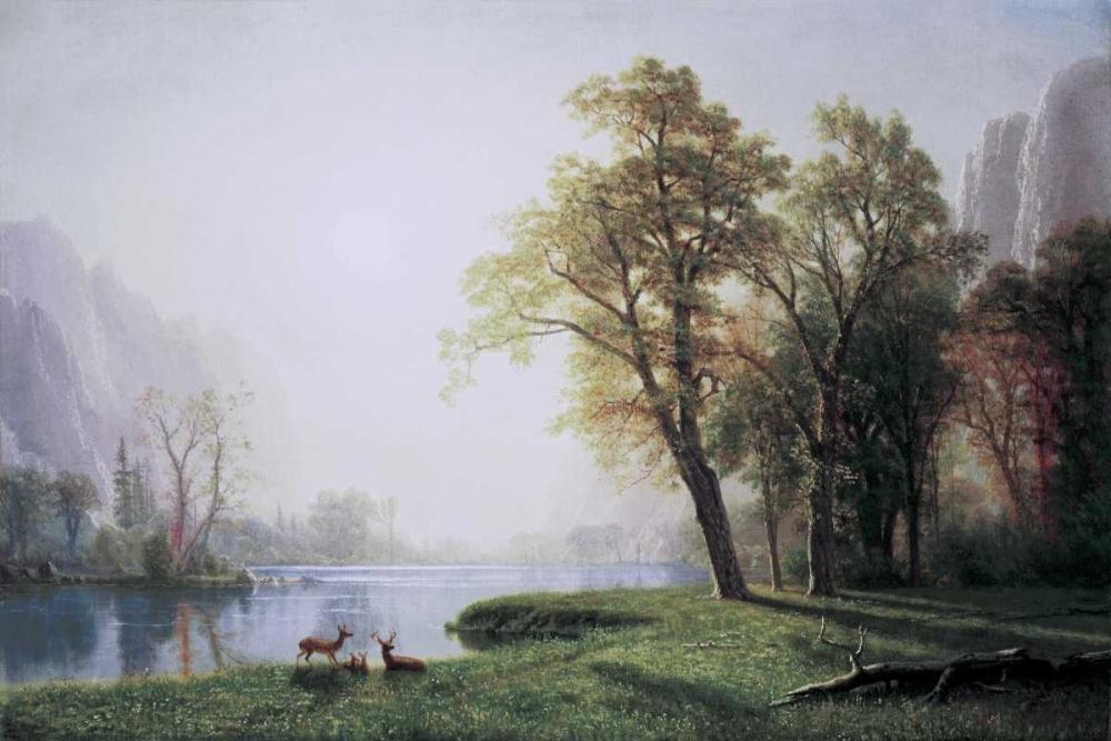konfigurieren des Kunstdrucks in Wunschgröße King River Canyon, California von Bierstadt, Albert