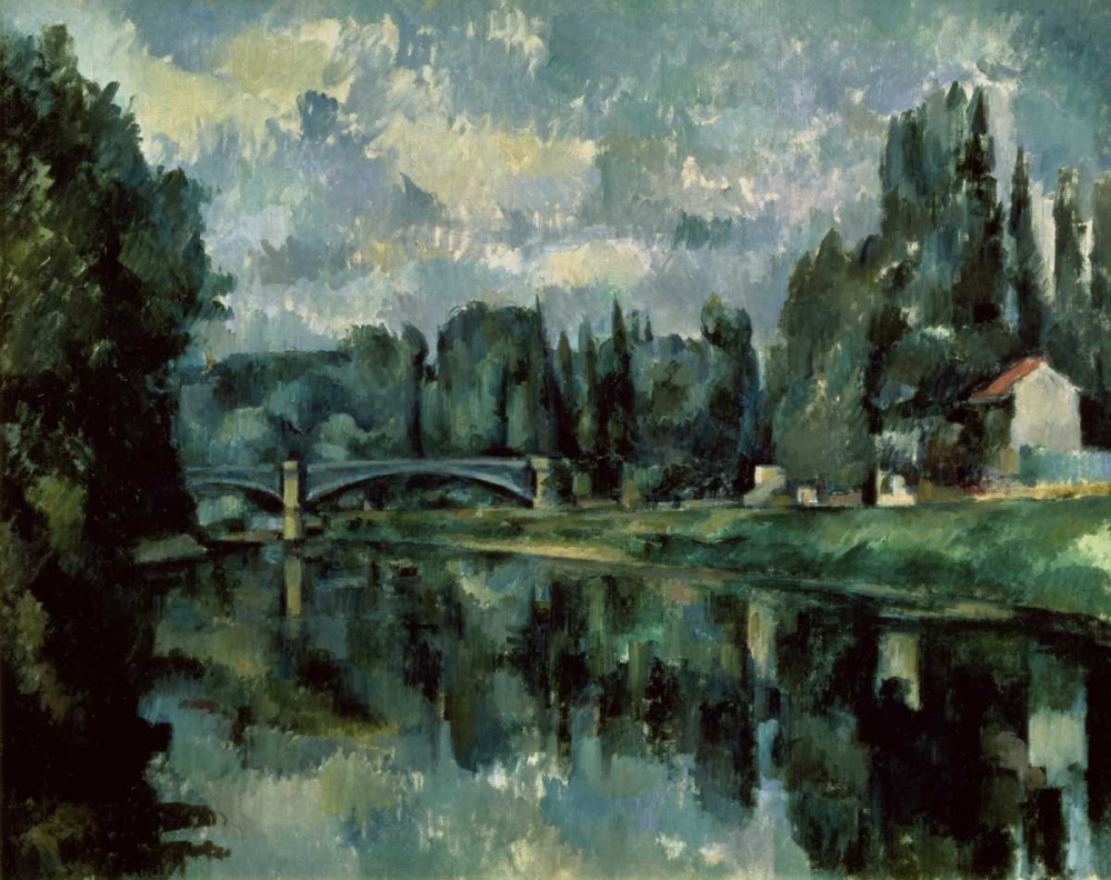 The Banks Of Marne von Cezanne, Paul <br> max. 122 x 97cm <br> Preis: ab 10€